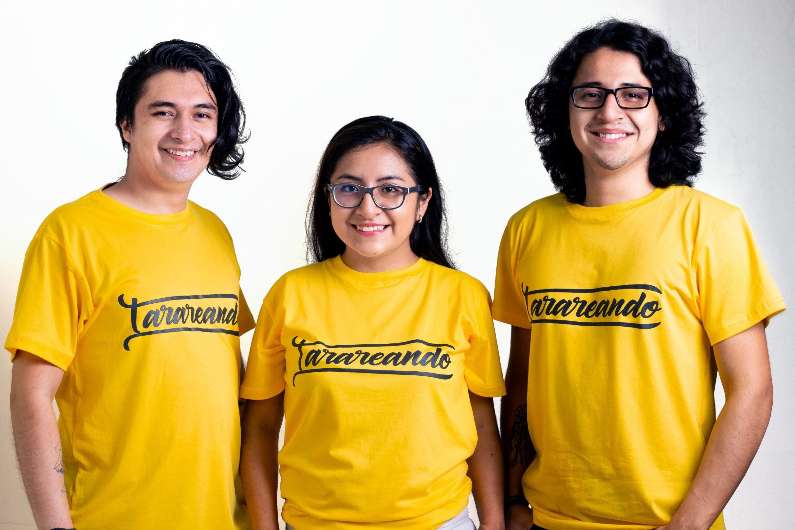 El equipo de Tarareando.