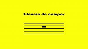 silencio de compas