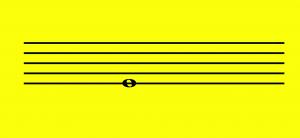 Sonido más grave dentro del pentagrama
