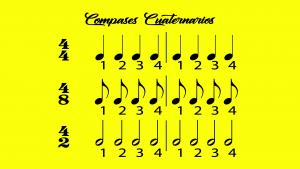 compases simples cuaternarios