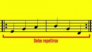 Barras de repetición