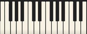 Teclas de un piano